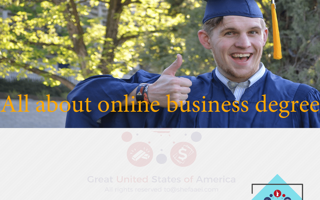 All about online business degree